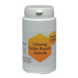 Gélules de Ginseng, Gelée Royale et Acérola