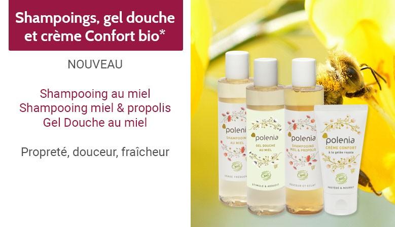 Shampooing bio miel & propolis