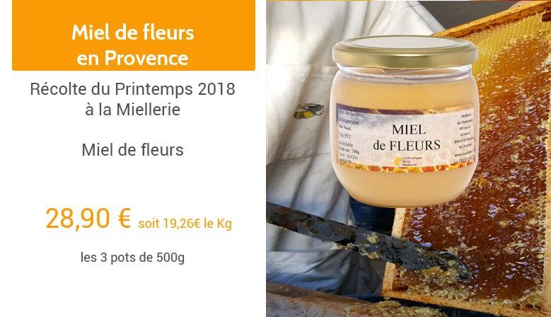 Miel des fleurs du Vaucluse