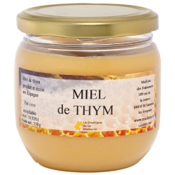 Miel de Thym, le pot de 250g