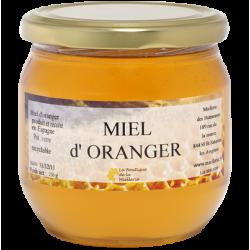 Miel d'Oranger, le pot de 250g