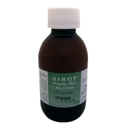 Sirop Propolis miel pin citron