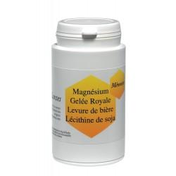 Gélules de Magnésium, Gelée Royale, Levure de Bière, Lécithine de Soja
