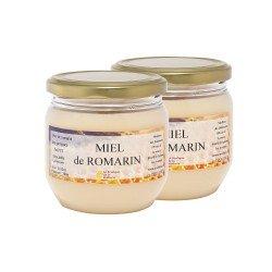 Miel de Romarin, les 2 pots de 500g