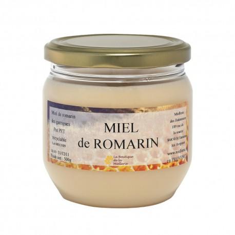 Miel de Romarin, le pot de 250g